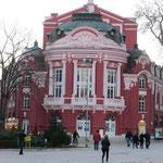 Die schöne Oper von Varna.