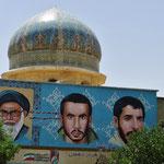 Geistlichkeit und Märtyrer sind im Iran nah beisammen.