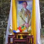 König Bhumibol Adulyadej wird in Thailand hoch verehrt.