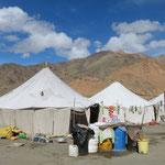Das Zeltlager von Debring, wo wir übernachten.