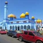 Die neue Moschee von Semporna.