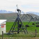 Manche fahrbaren Bewässerungsanlagen sind 1,5 km lang!