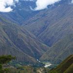 Hinter Villcabamba gibt es nur noch wenige Dörfer, dafür viel Natur.