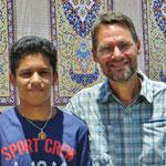 Sajad, unser junger kundiger Führer zu diversen Moscheen und Grabmählern.