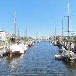 Der Museumshafen von Wolgast.