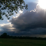 Sonne und Regen, oftmals gleichzeitig.