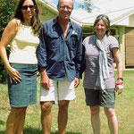 Vielen Dank, dass wir euren Garten als Zeltplatz nutzen durften, Michelle und Andrew!