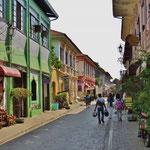 Vigan ist bekannt für seine alten Gebäude, erbaut durch die Spanier im 16. und 17. Jahrhundert.