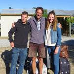 In Cromwell treffen wir die Geschwister Jey und Michel aus Oberentfelden. Alles Gute euch beiden aufgestellten jungen Leuten!