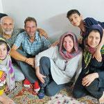 Zu Gast bei Hadi und seiner Familie in Maschad.