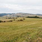 Hochebene am Rande des Nationalparks Polana, Slowakei