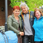 In Batumi lernen wir Us aus der Schweiz und seine Frau Bella aus Georgien kennen.