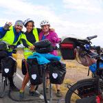 Nubia aus Spanien und ihr Freund aus Argentinien reisen in den Norden.