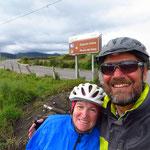 Am Chimborazo vorbei auf 3600 m hochgekurbelt!
