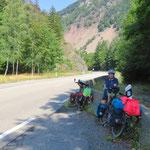 Im Aufstieg zum Col de Bussang.