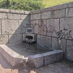 Die Quelle der Mosel kurz vor Bussang, in den Vogesen.
