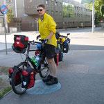 Start in Wien am frühen Sonntagmorgen