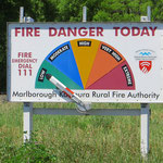 Feuergefahrwarnung wie in Australien.