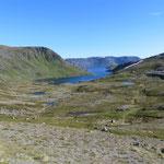 Traumhafte Ausblicke auf dem Weg zum Nordkapp.