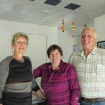 Grosses Hallo bei Maja und Heinz