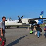 Für das Thailandvisum fliegen wir für vier Tage in die Hauptstadt Vientiane.