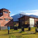 Villa O'Higgins ist ein kleiner Ort mit nur 400 Einwohnern. Hier unser gemütliches Hostal El Mosco.