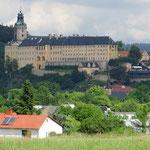 Die Heidecksburg bei Rudolstadt, eines der prachtvollsten Schlösser in Thüringen.