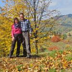 Warme, farbenfrohe Herbsttage - das Leben ist schön!