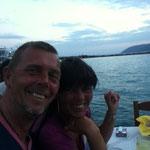 Gemütlicher Abend im Hafen von Lefkada
