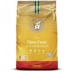 Opus Farm is een complete voeding op basis van kip en aardappel
