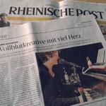 Die Rheinische Post widmet mir zum zweiten Mal ein Porträt.