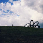 """Tiger and Turtle"" in Duisburg."