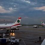 Abflug in Beirut.
