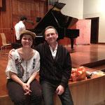 """Ein """"alter Freund"""": Dieser Konzertbesucher war vor zwei Jahren bei unserem Konzert in Tripoli."""