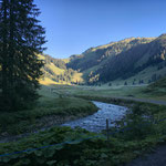 Eindrücke einer Wanderung in Vorarlberg.