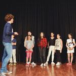"""...im Rahmen einer Masterclass in der Musikschule """"Rock'n Bach"""" in Jounieh,..."""