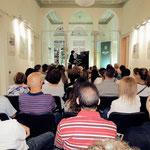 """...und im """"Brasiliban"""" (Kulturzentrum Brasiliens) in Beirut zu musizieren."""