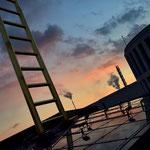 Die Goldene Leiter in Duisburg.