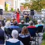 Tamar Ilana Flamenco Trio perform during Friday Community Concert.