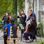 Rosebud String Quartet and Julie Hereish perform work by Schubert.