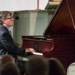 Pianist John Novacek begins The Hereos performing Beethoven.