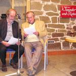 Veranstaltung mit Felix Huby und Walter Schultheiß