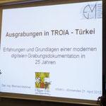 """Vortrag """"Ausgrabungen in Troia"""""""