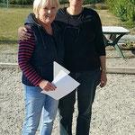Vorstand mit Turnierleitung: Bigi und Bettina
