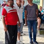 4. Platz (v.l.n.r.): Christian, Michael, Fabian