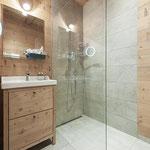 Badezimmer mit Stil in unseren Chalets