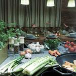Zeit für gemeinsames Kochen und Genießen