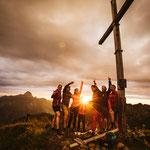 Nautur genießen, Abenteuer erleben, Berge erklimmen... Warth-Schröcken. Der Atem der Berge live erleben.