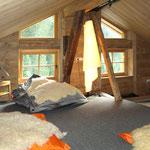 Dachbodenzimmer Heuboden im Bergchalet Unterboden 5