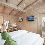 Wunderschöne Zimmer zur Entspannung nach einem actionreichen Tag